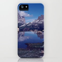 ESCAPE #2 #BLUE #Original - Peace in the Mountains iPhone Case