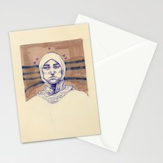 Untitled (Five Hearts) Stationery Cards