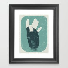 The Beast and Dragon, Adored Framed Art Print