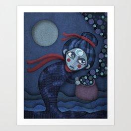 A Night Mama Art Print