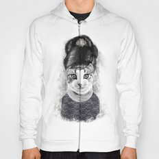 audrey cat Hoody