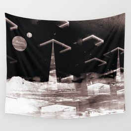 Brave New World (Deconstructed Polyscape 8) Wall Tapestry