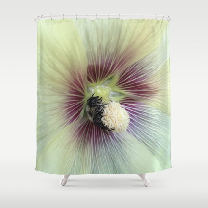 Bee Amazing Shower Curtain