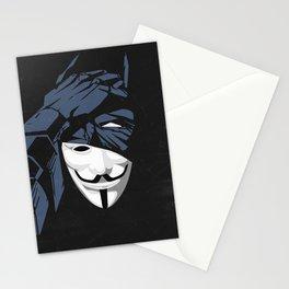 V For Bat (B Edition) Stationery Cards