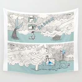 The search of love Wall Tapestry