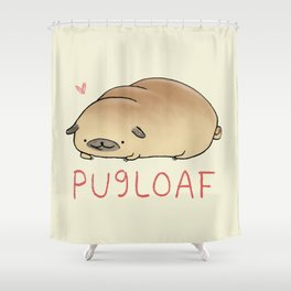 Pugloaf Shower Curtain