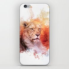 Expressions Lioness iPhone & iPod Skin