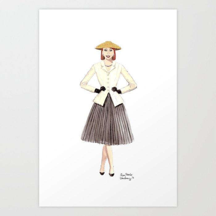 Bar Suit Art Print