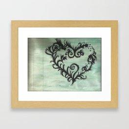 A thorn for every heart Framed Art Print