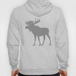 Moose: Grey Hoody