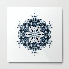 NOX BLUE III Metal Print