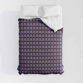 Lilac 17th century bodice jacket print Comforters