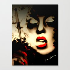 SASSY LADY Canvas Print