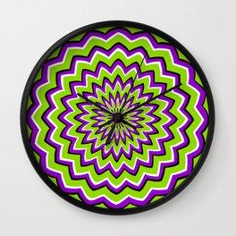Optical Illusion moving pattern Wall Clock