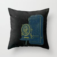 focus Throw Pillows featuring Focus by Last Call