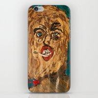 grunge iPhone & iPod Skins featuring grunge  by Samantha Sager