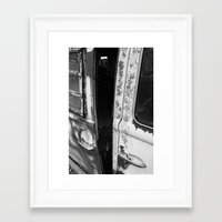 van Framed Art Prints featuring Van by Watson Burch