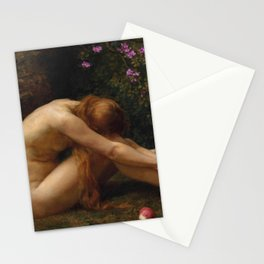 The Last Temptation of Eve by Anna Lea Merritt Stationery Cards