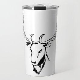 Ciervo negro Travel Mug