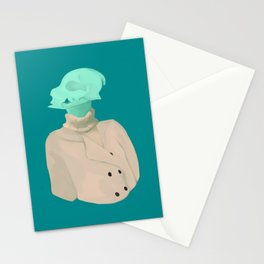 Skull babe 4 Stationery Cards