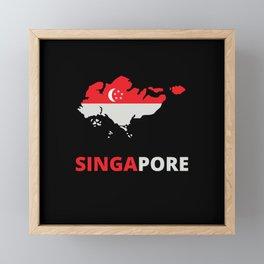 SINGAPORE Framed Mini Art Print