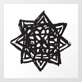 Akashic Key by Kip Art Print