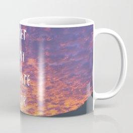 Sunset is My Favorite Color Coffee Mug