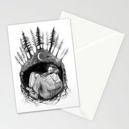 hibernate with me Stationery Cards