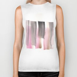 [161228] 28. Abstract Watercolour Color Study|Watercolor Brush Stroke Biker Tank