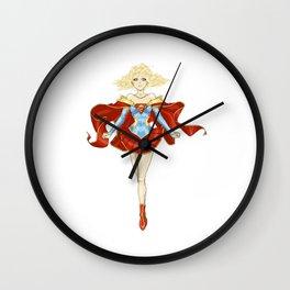 [Ame-Comi] Supergirl Wall Clock
