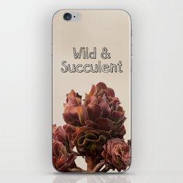 Wild & Succulent iPhone Skin