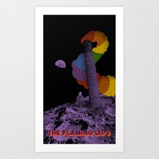Wonderful Transmissions From Space Art Print
