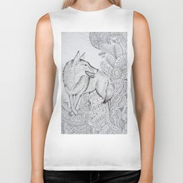 By The Light Of The Moon Biker Tank