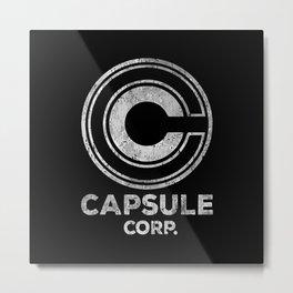 Capsule Corp. Metal Print