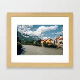 Rivers Flow Inn You | Innsbruck, Austria Framed Art Print