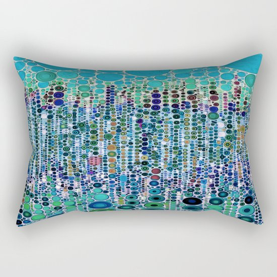 :: Blue Raspberry Martini :: Rectangular Pillow