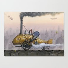 Steamed Fish Canvas Print