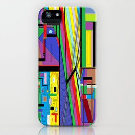 Geometry Abstract iPhone Case