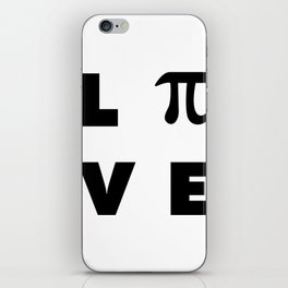 Love Pi iPhone Skin