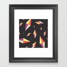Diamonds Framed Art Print