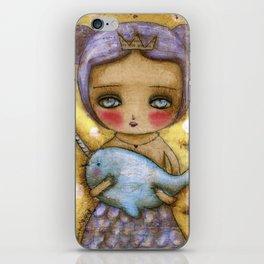 Narwhal Love iPhone Skin