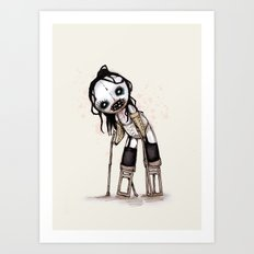 Antichrist Superplush Art Print