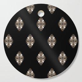 Simulated illuminated diamond pattern Cutting Board