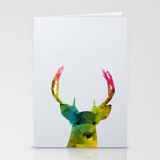 Glass Animal - Deer head Stationery Cards