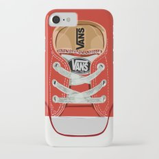 Cute red Vans all star baby shoes apple iPhone 4 4s 5 5s 5c, ipod, ipad, pillow case and tshirt Slim Case iPhone 7