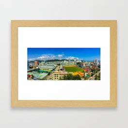 Nha Trang City Centre Framed Art Print