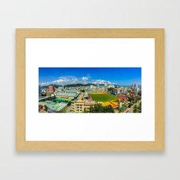Nha Trang City Centre Framed Art Print