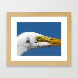 on the pier 3  Framed Art Print