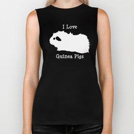 I Love Guinea Pig - Abyssinian Biker Tank