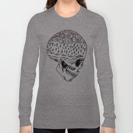 Skull Rain Long Sleeve T-shirt